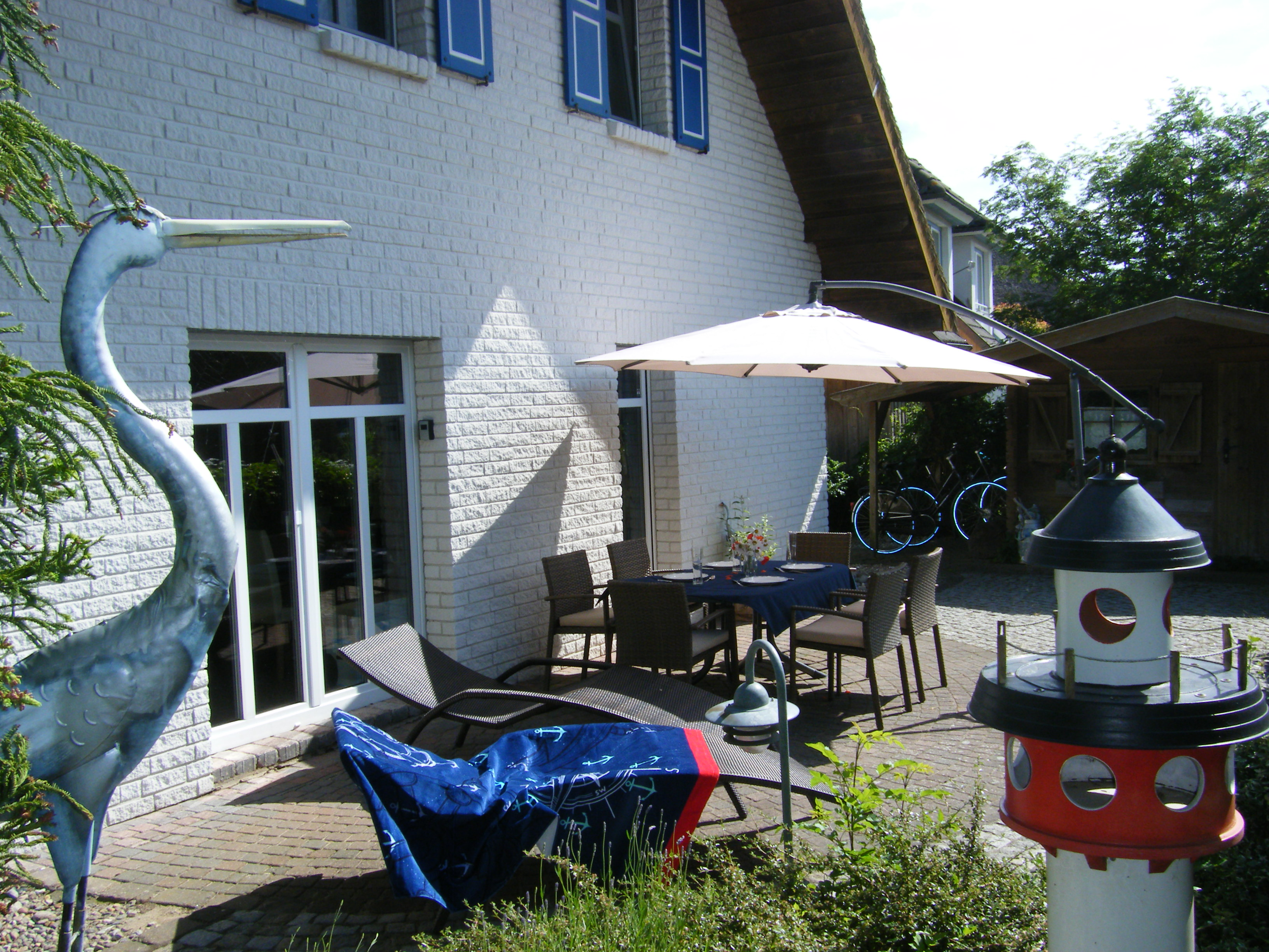 Ferienhaus Gulet: Terrasse
